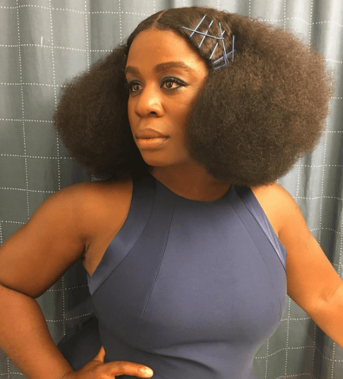 Uzo Aduba afro: All Things Hair - IMAGE - nautral hair solange A Seat at the Table