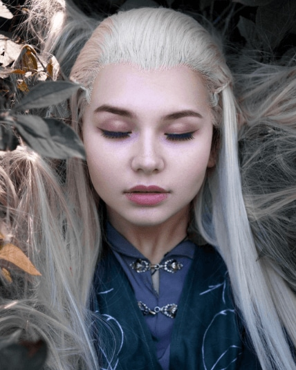 anime hairstyles: All Things Hair - IMAGE - micro braids and white hair