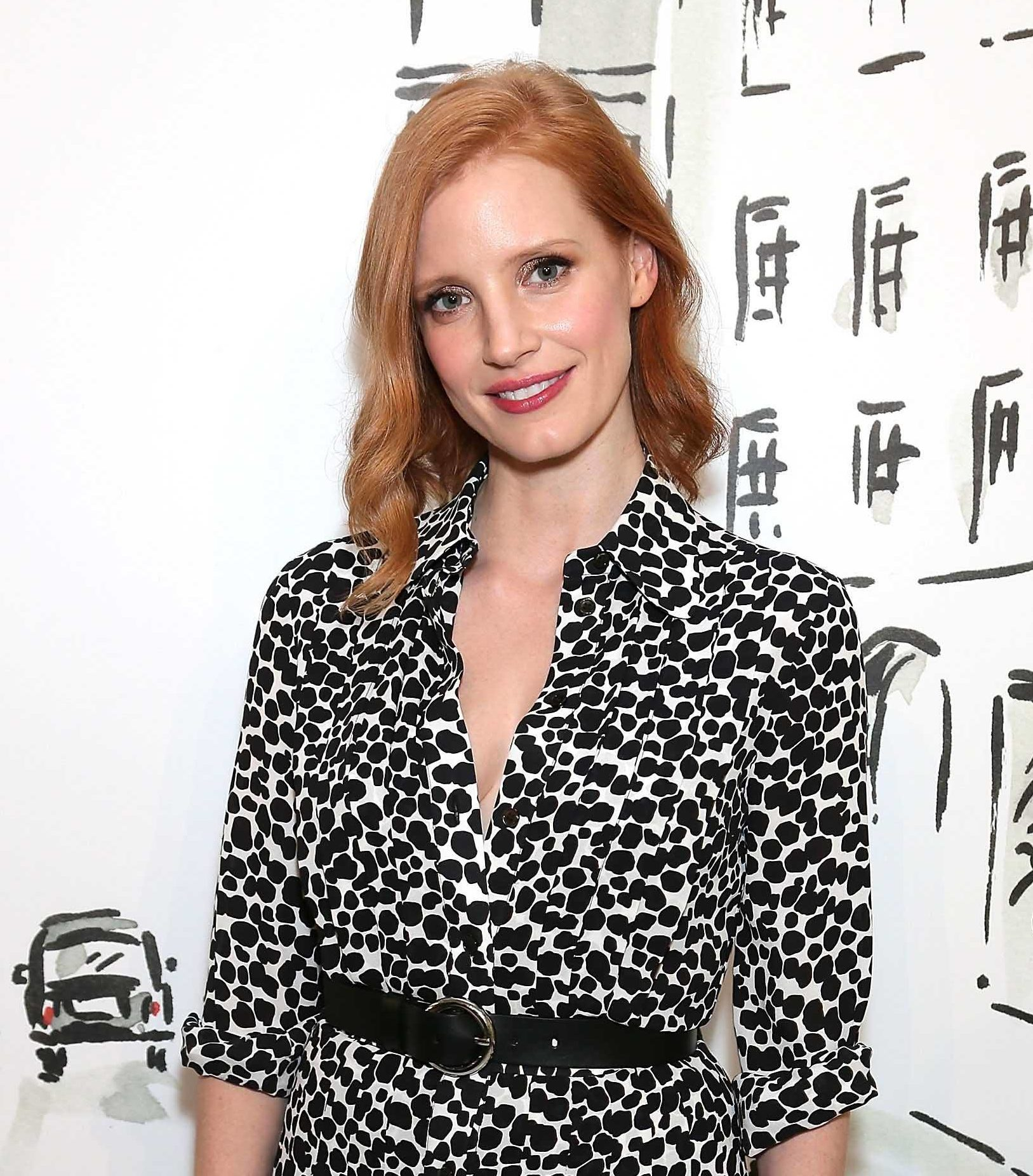 Trendy bob hairstyles: All Things Hair - IMAGE - long bob red ginger Jessica Chastain