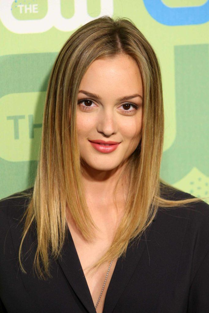 Natural blonde: All Things Hair - IMAGE - celebrity Leighton Meester long blonde ombre