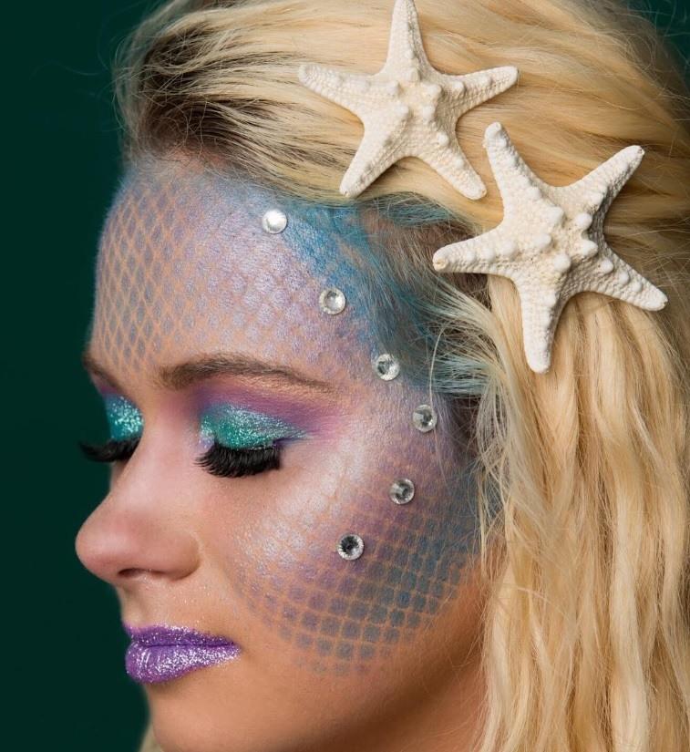 Mermaid hairstyles: All Things Hair - IMAGE - mermaid shell blonde
