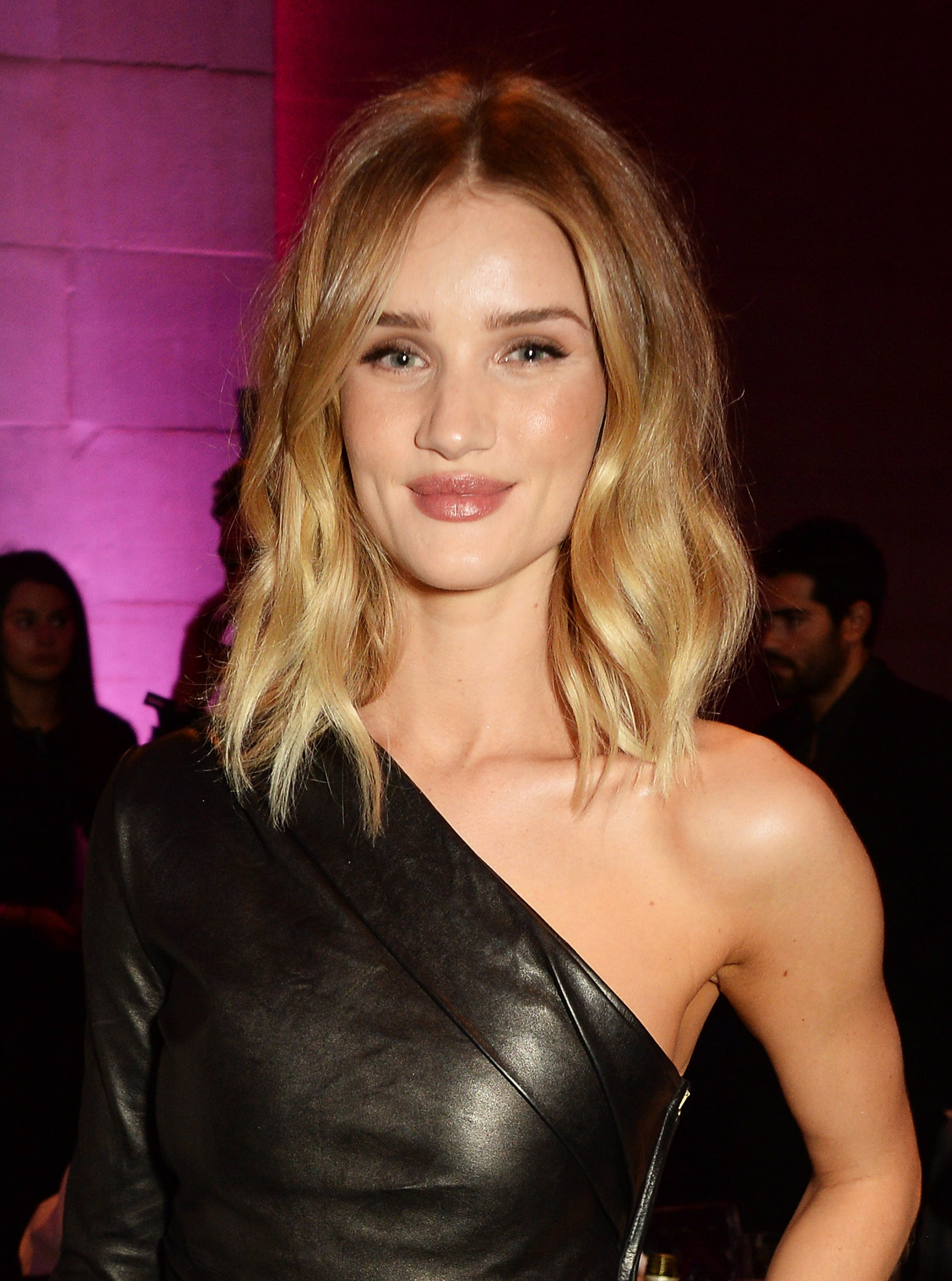 Modern Bob Hairstyles: All Things Hair - IMAGE - Rosie-Huntington Whiteley shaggy blonde bob