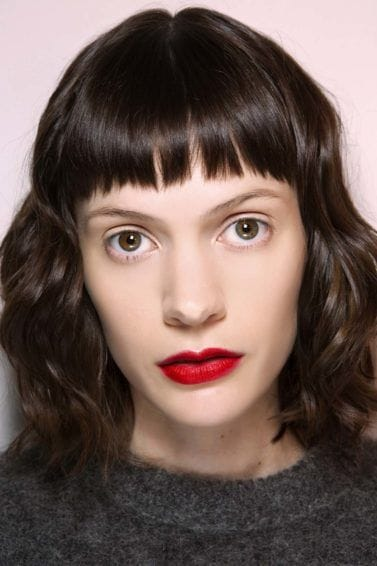 short fringe hairstyles: All Things Hair - IMAGE - vintage glamour fringe micro