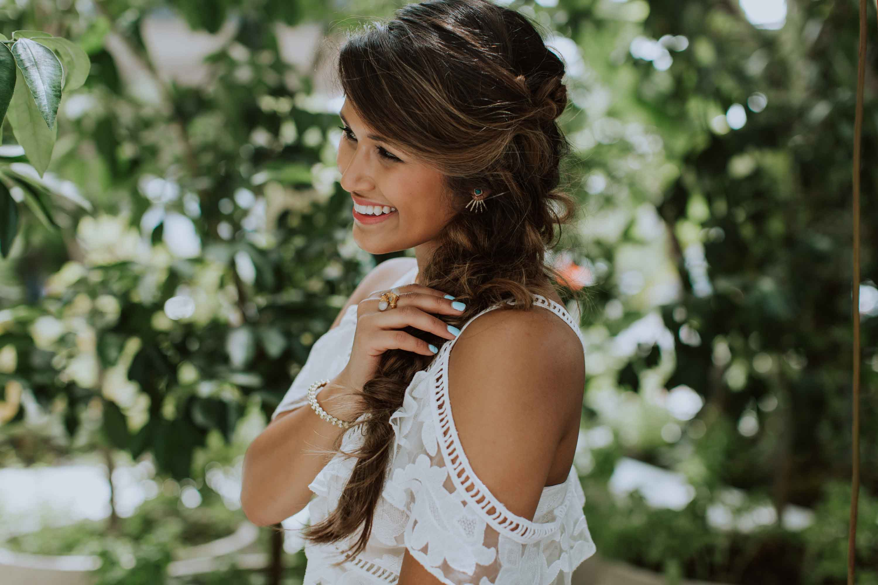 Hairstyles for thick wavy hair: All Things Hair - IMAGE - wavy braid side