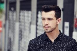 Textured quiff: All Things Hair - IMAGE - mens hairstyles how to tutorial