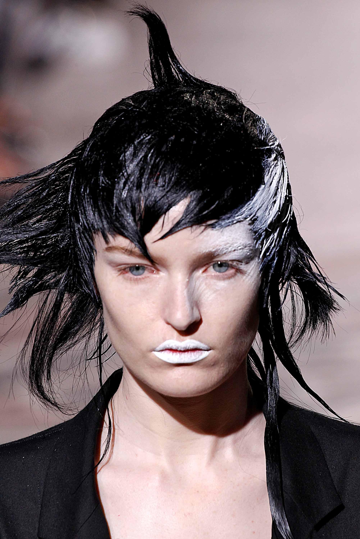 Halloween hairstyles: All Things Hair - IMAGE - Paris Fashion Week colourful hair