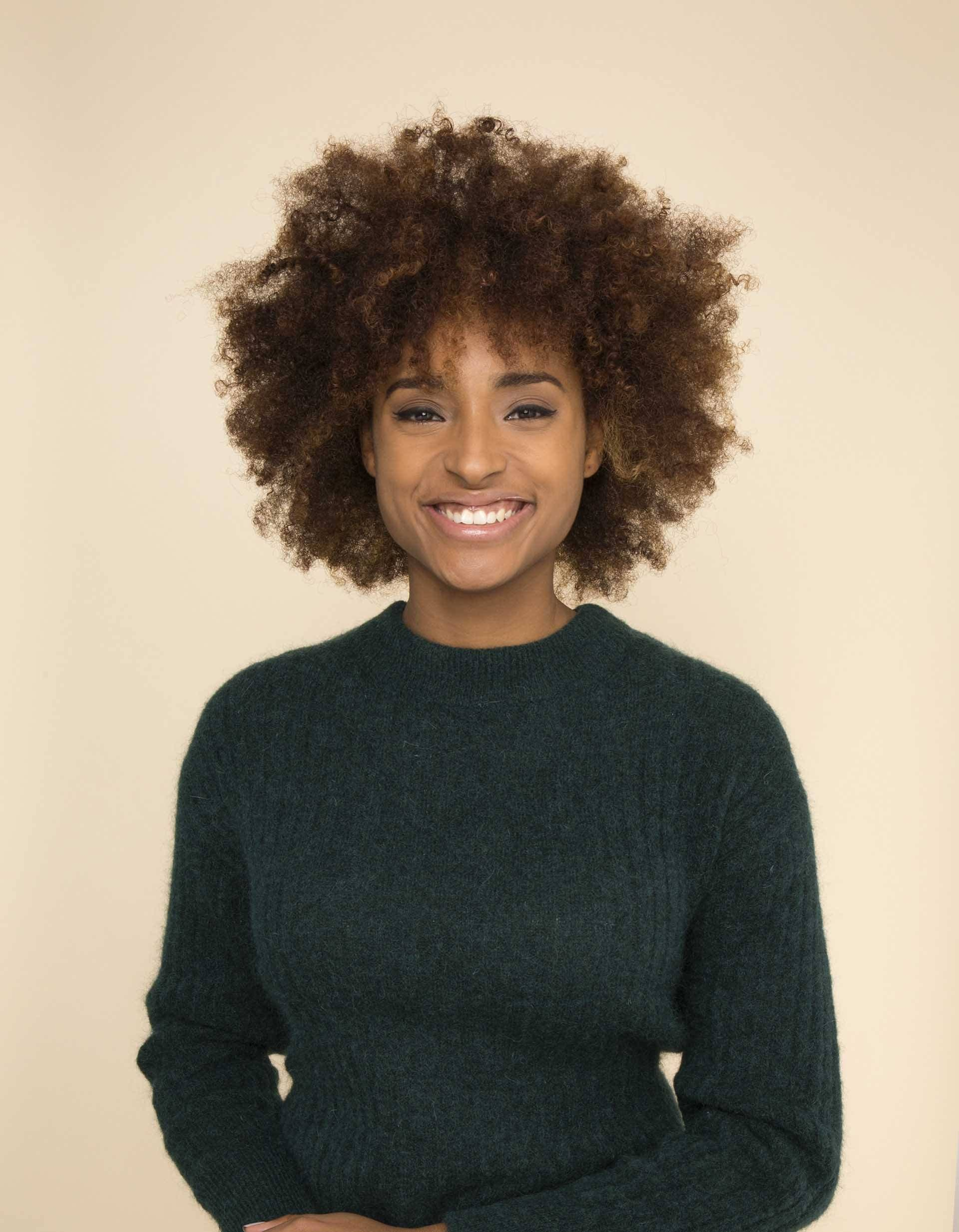Natural hair frohawk: All Things Hair - IMAGE - freshly washed afro hair