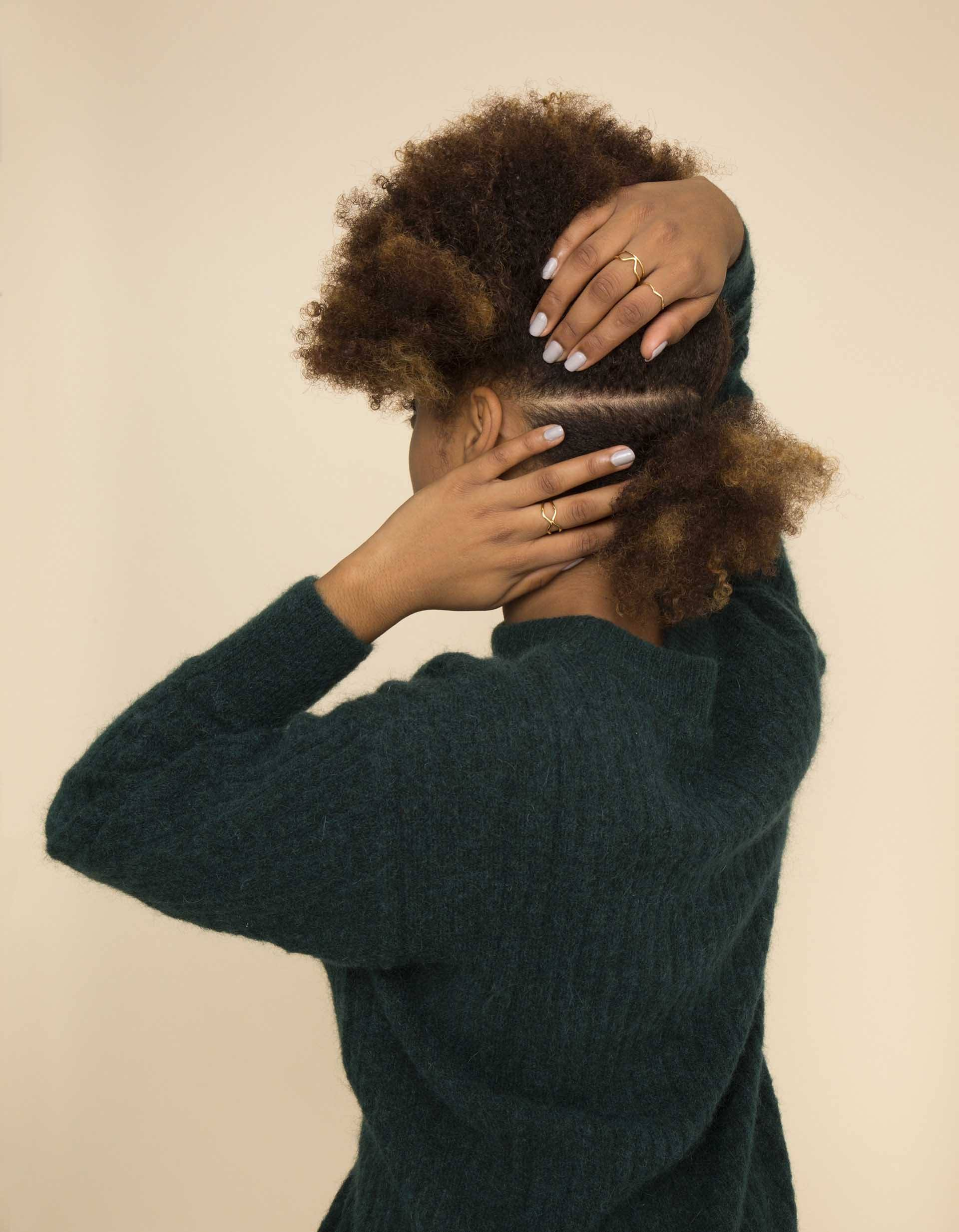 Natural hair frohawk: All Things Hair - IMAGE - part natural hair
