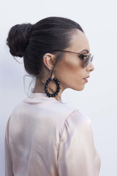 Latest hairstyles for women: All Things Hair - IMAGE - textured ballerina bun