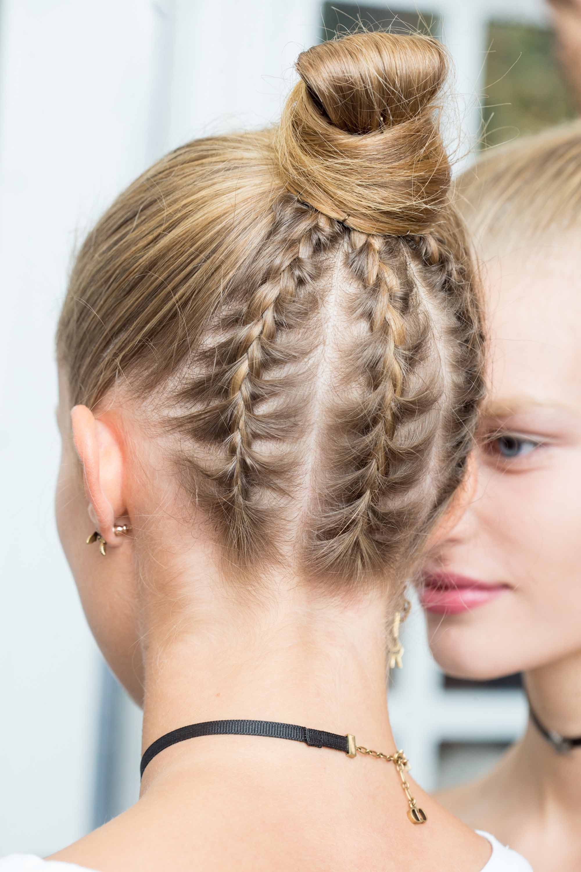 5 Easy bun hairstyles to try this party season for braid lovers