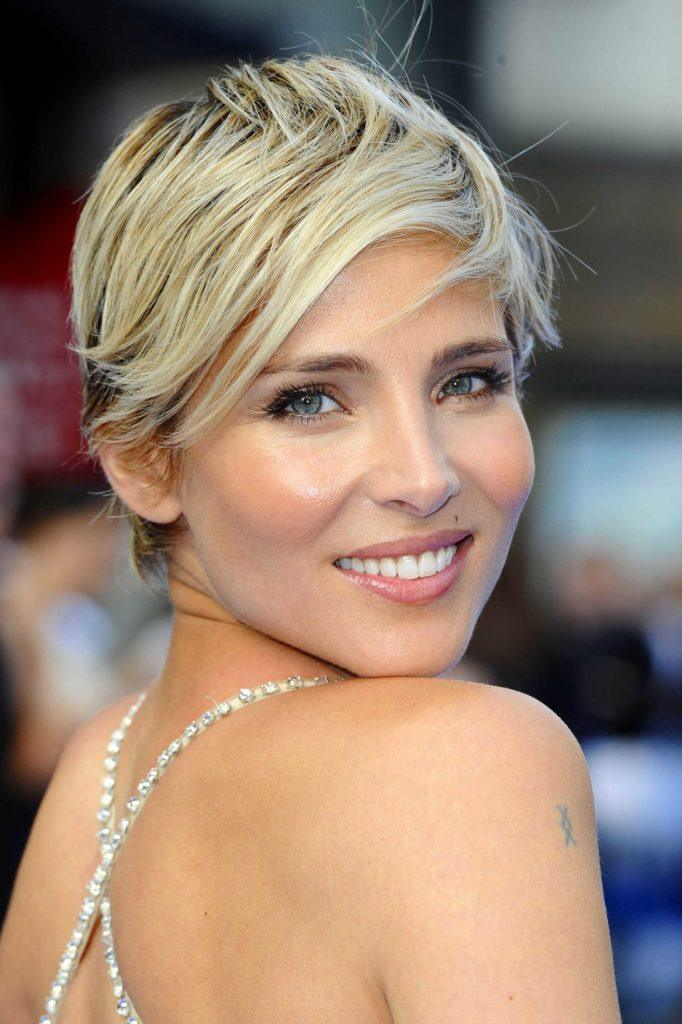 Short Blonde Hair All Things Image Pixie Crop Elsa Pataky