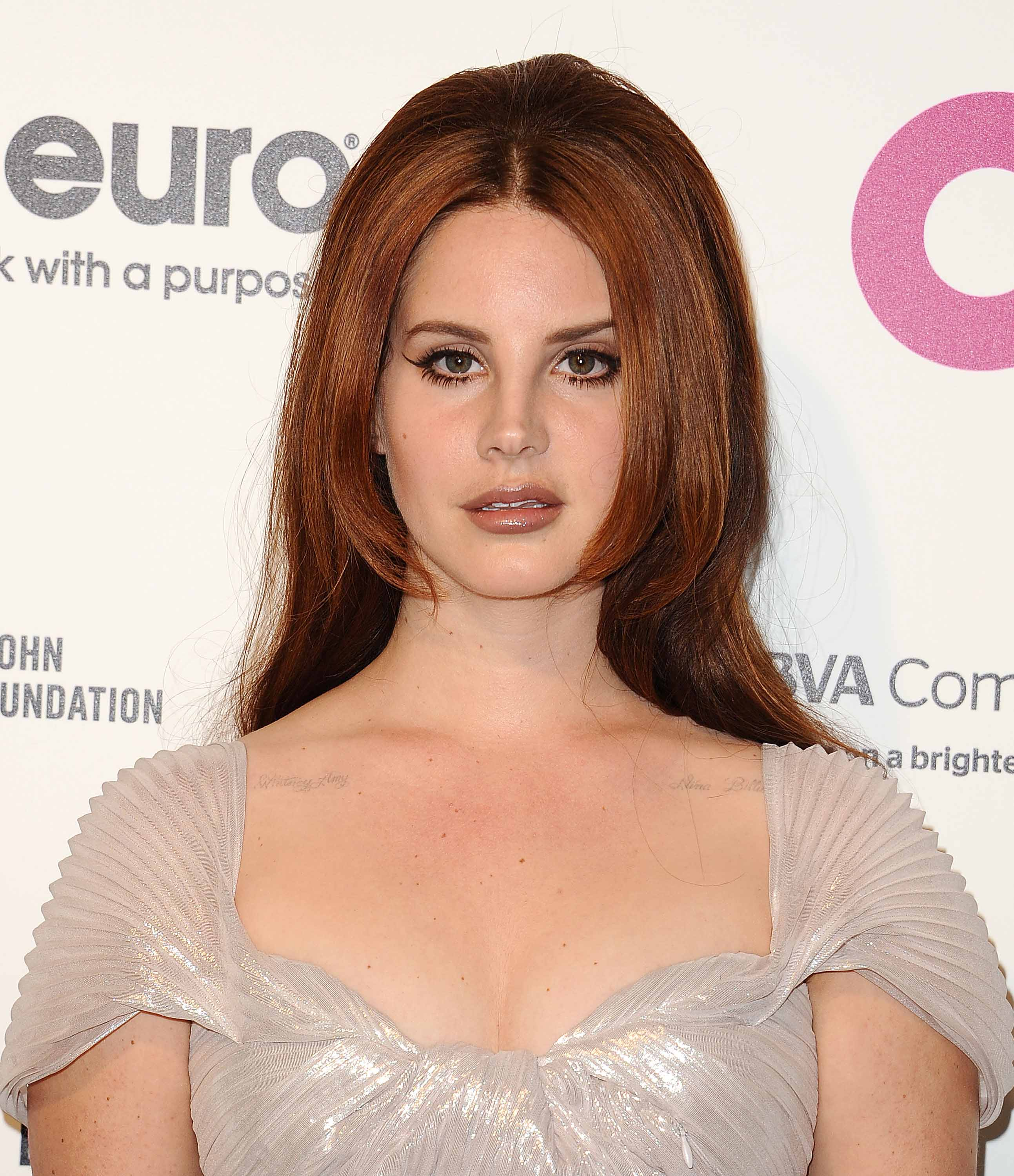 Famous redheads: All Things Hair - IMAGE - Lana Del Rey long red hair