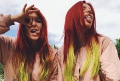 Bella Thorne red hair: All Things Hair - IMAGE - Bella with twin sister Dani Thorne