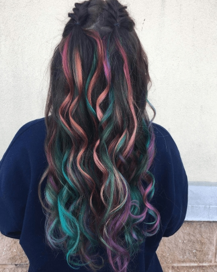 Latest hair colour trends: All Things Hair - IMAGE - firework-inspired hair