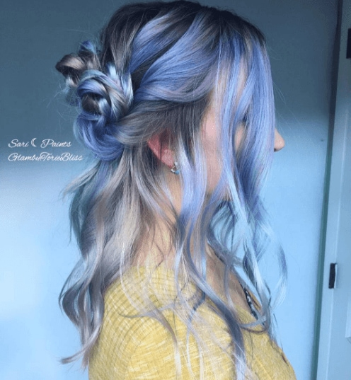 Latest hair colour trends: All Things Hair - IMAGE - metallic hair