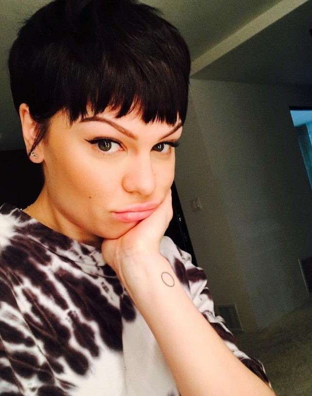 Jessie J hair: All Things Hair - IMAGE - Instagram celebrity pixie crop