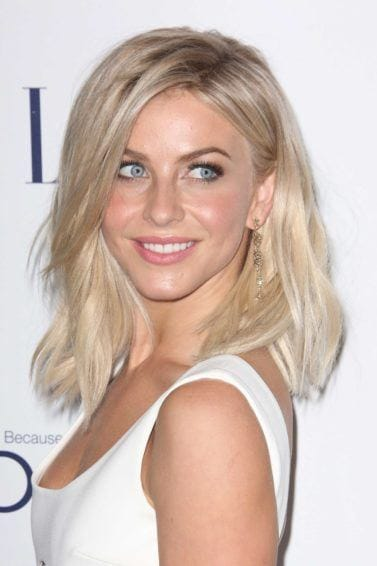 short blonde hair: All Things Hair - IMAGE - Julianne Hough long blonde bob