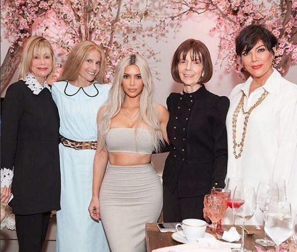 kardashian family picture kim kardashian long platinum blonde hair with dark roots