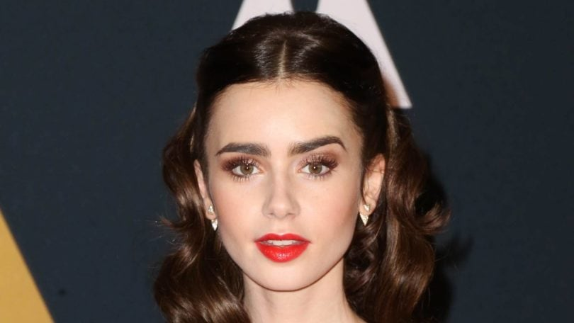 lily collins vintage hairstyle image all things hair