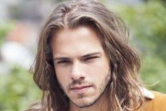 sea salt spray mens: All Things Hair - IMAGE - bed head hair brown medium length waves