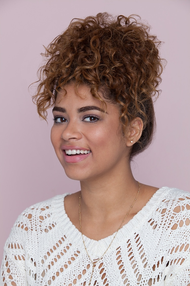 Curly hair styles: All Things Hair - IMAGE - pineapple curly party hairstyle