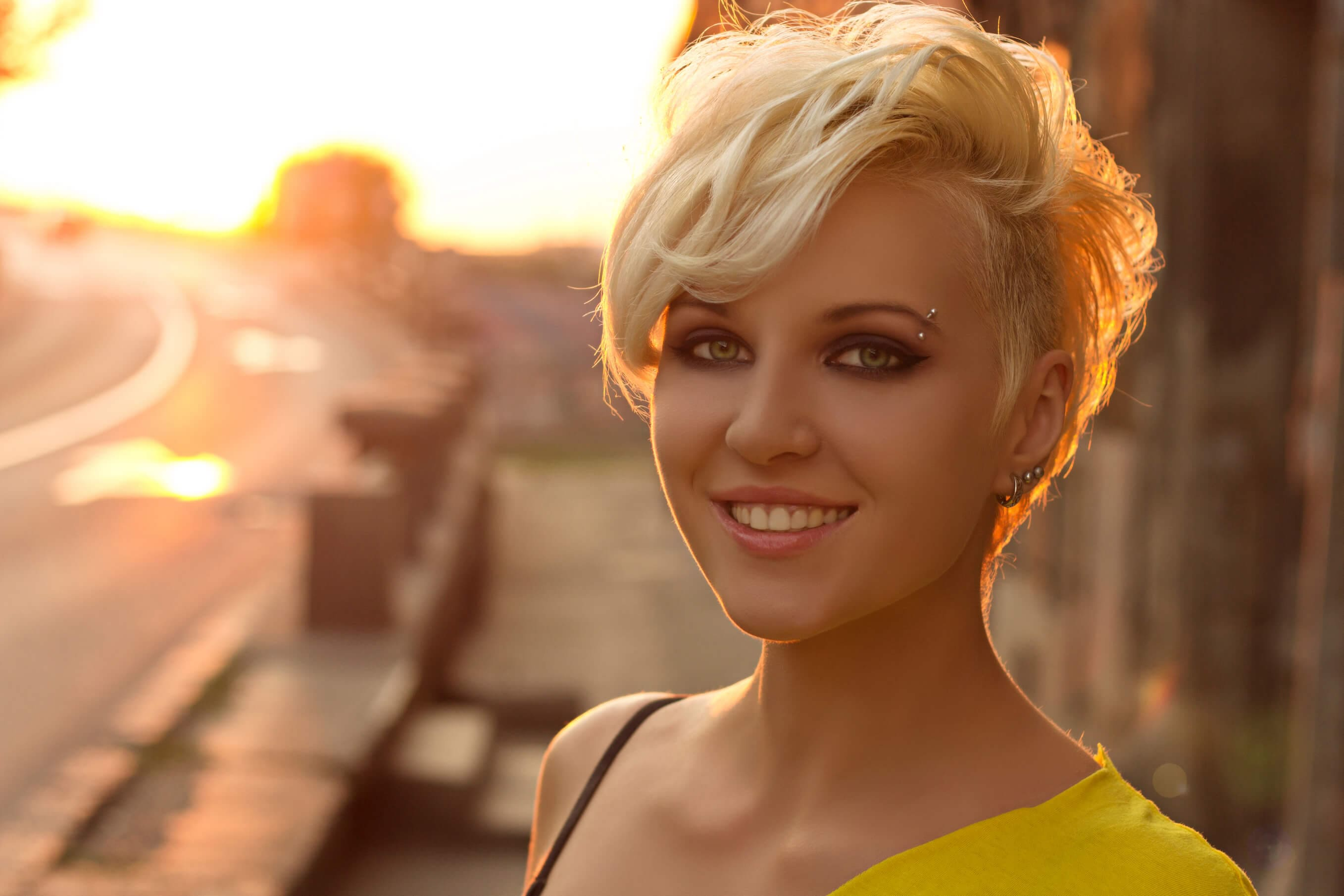 long pixie cut: All Things Hair - IMAGE - styling ideas tousled blonde waves