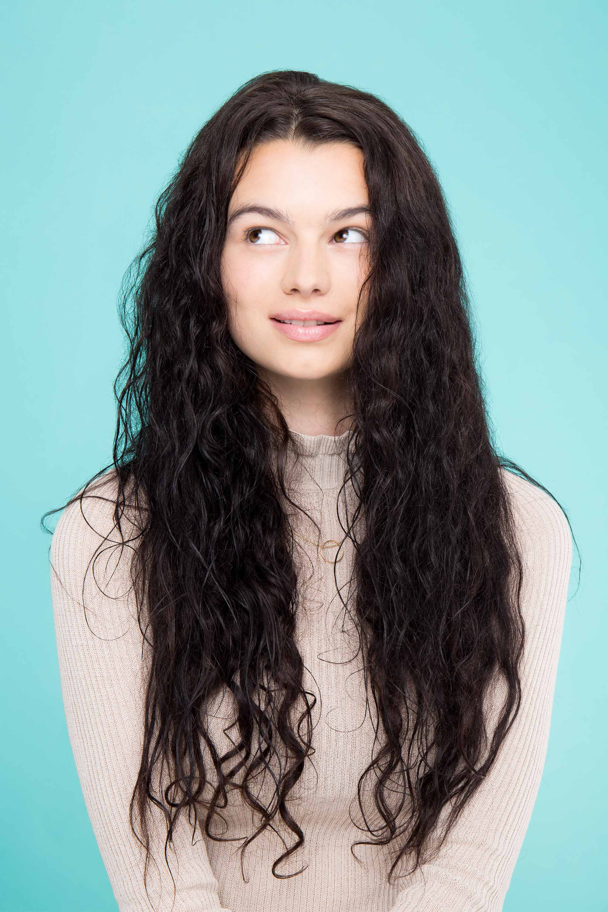 Styling mousse: All Things Hair - IMAGE - long brown curly hair mousse