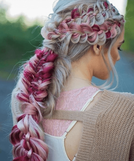 Catch everyone\'s attention with a fabulous fishtail hairstyle