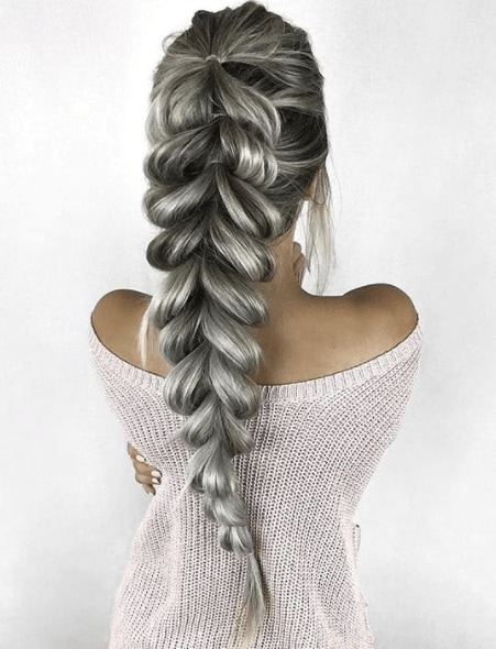 Catch everyone's attention with a fabulous fishtail hairstyle
