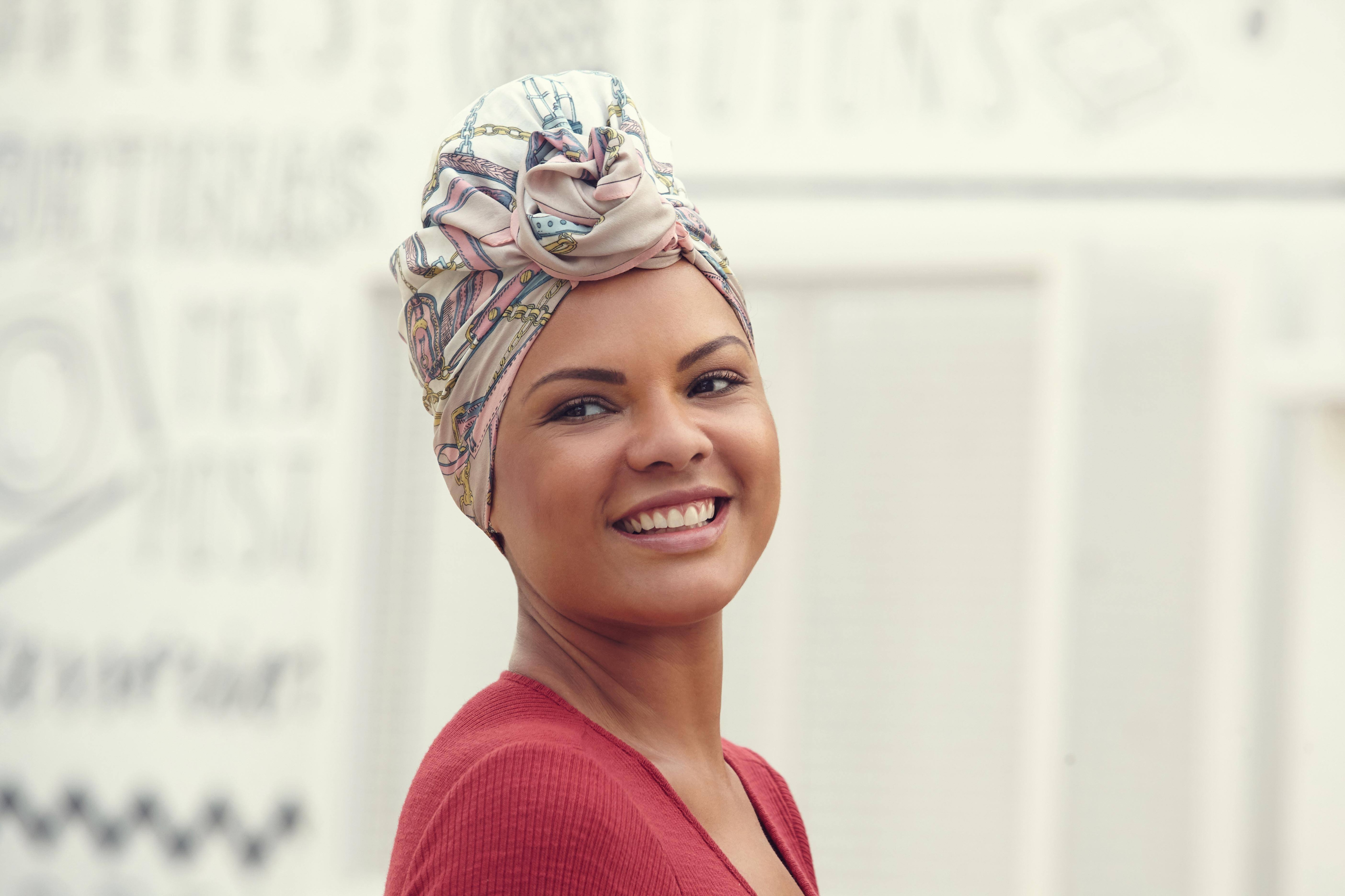 3 Pretty Ways To Protect And Style Your Hair With A Silk Scarf