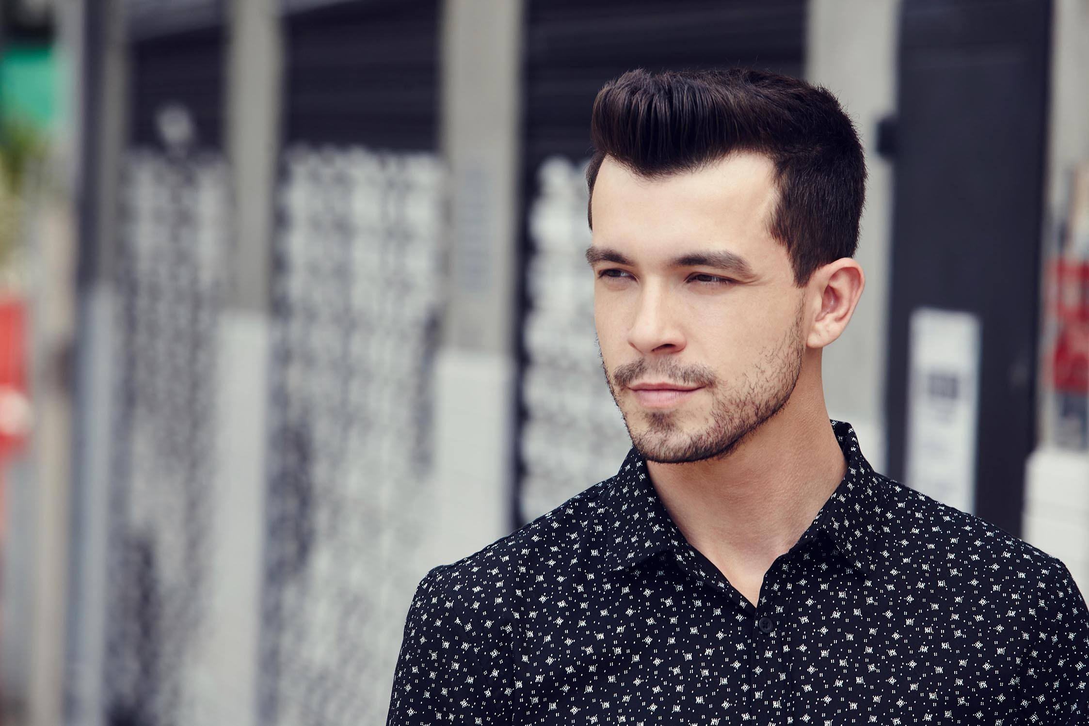 Short hairstyles 2016: All Things Hair - IMAGE - textured quiff popular men style