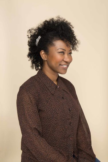 Frohawk: All Things Hair - IMAGE - Finished hairstyle The 12 'Dos of Christmas