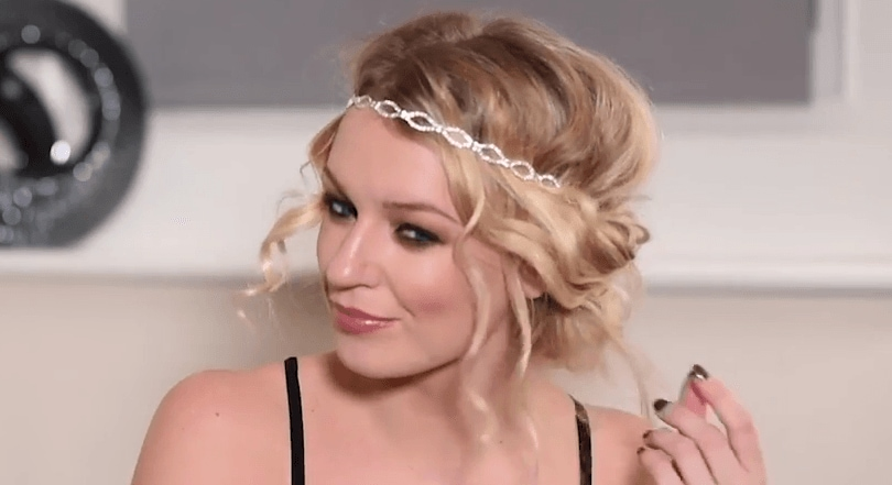 How to curl short hair for a gatsby inspired updo by zoe newlove how to curl short hair all things hair image zoe newlove vlogger party urmus Choice Image