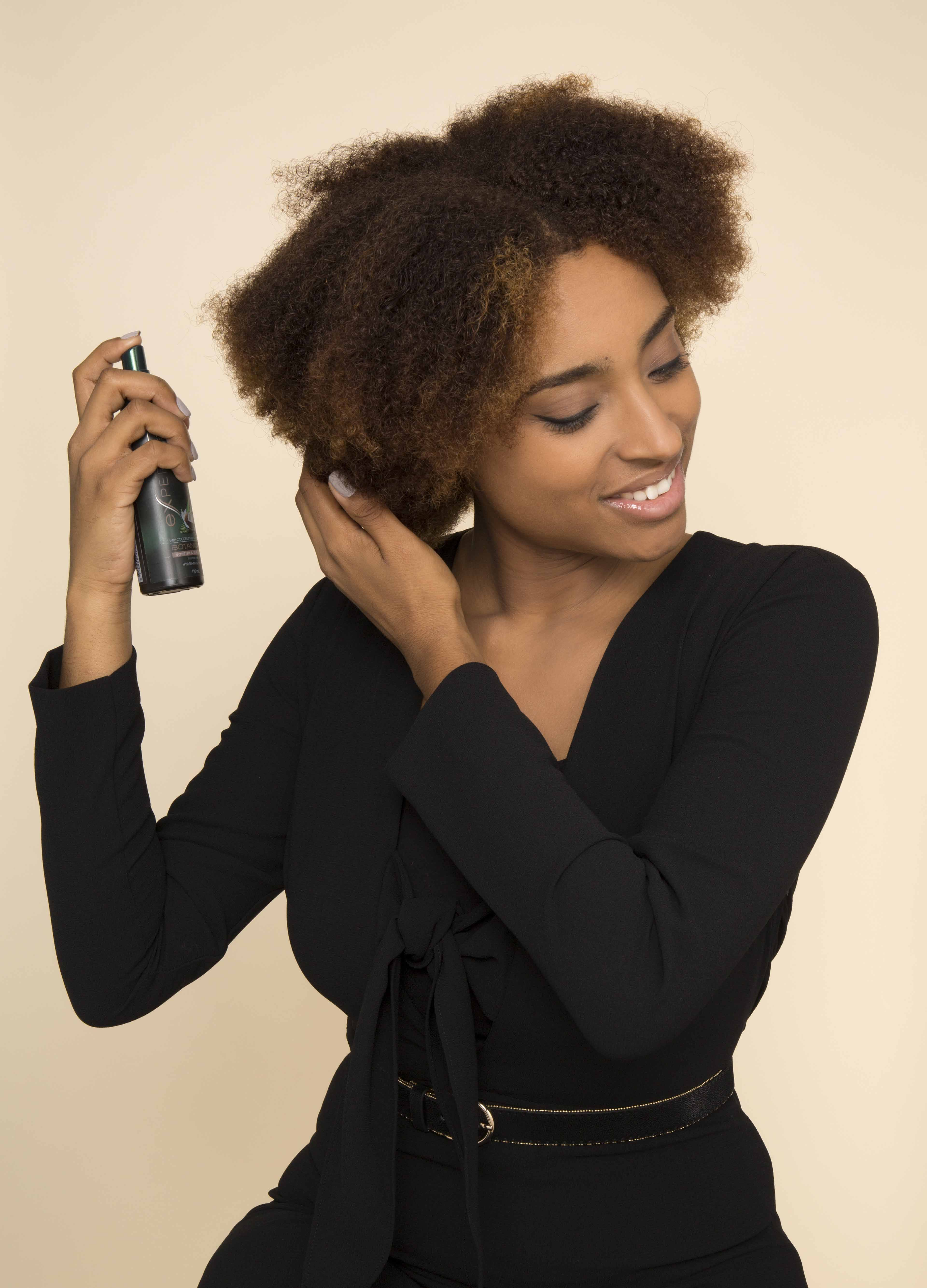 How to create heatless curls on natural hair with flexi rods