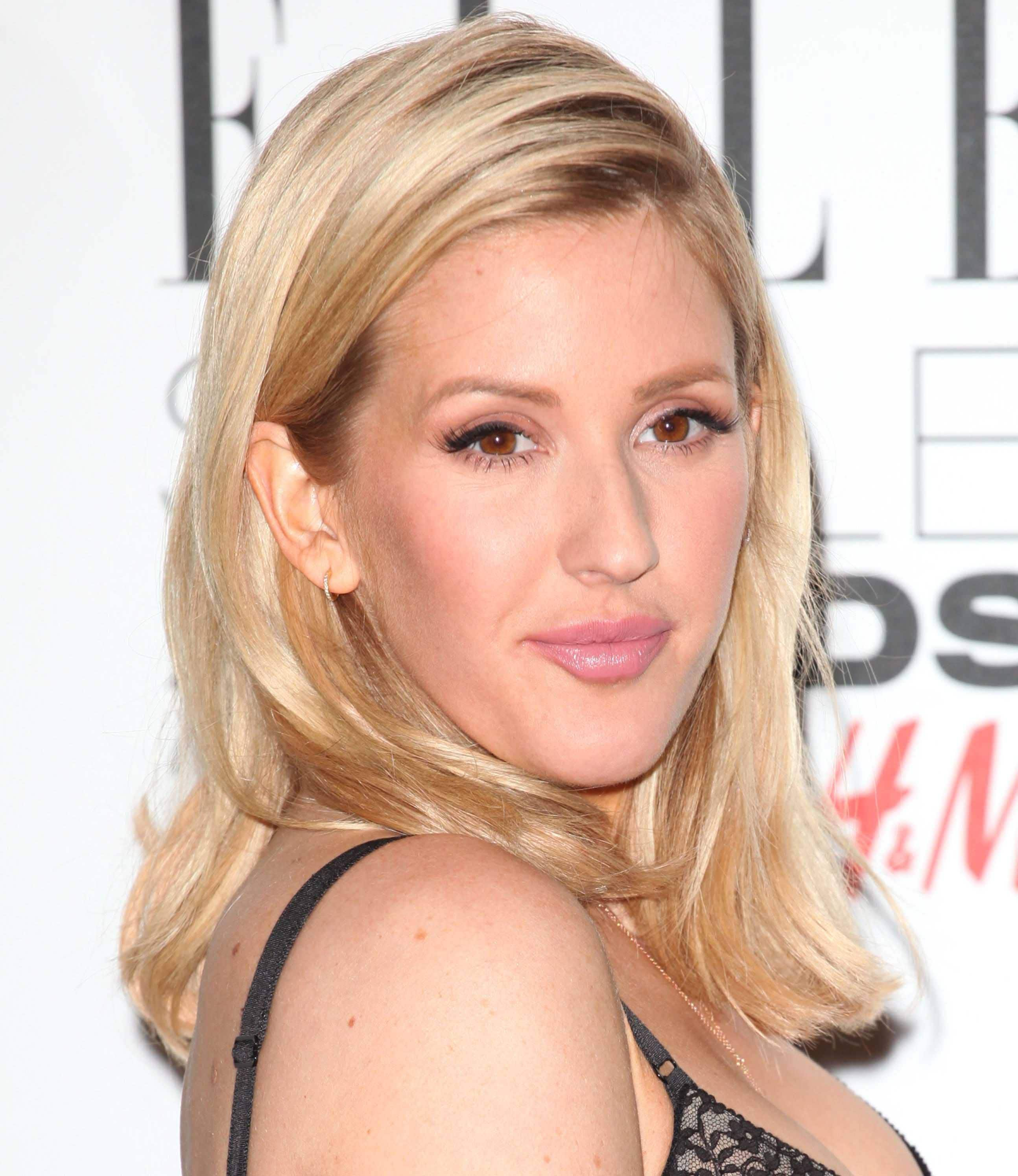 celebrity hair: All Things Hair - IMAGE - 2016 Ellie Goulding blonde medium length hair