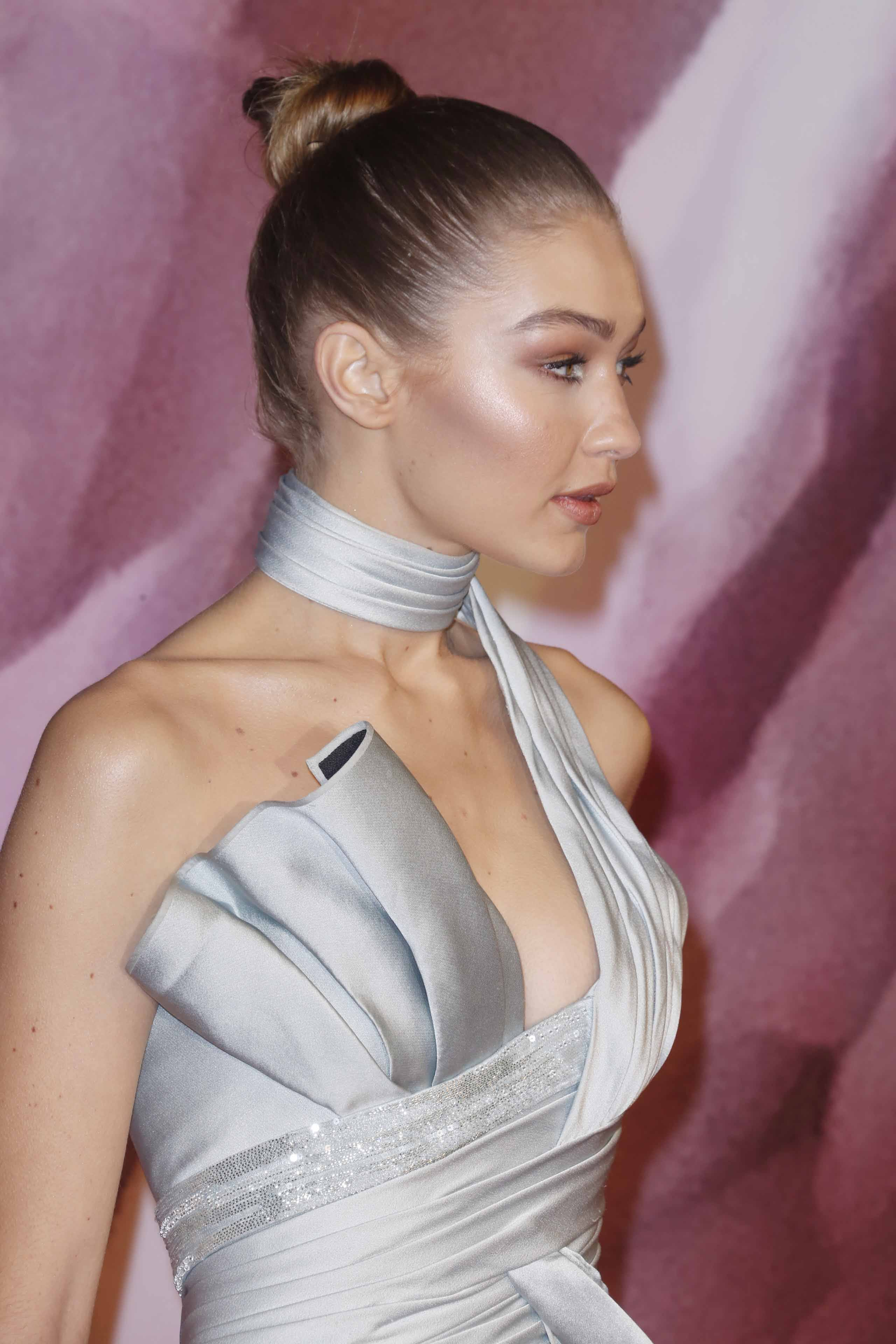 Fashion Awards 2016: All Things Hair - IMAGE - celebrity gallery Gigi Hadid high slick top knot