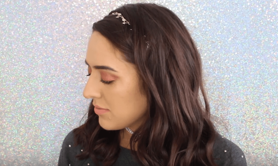 How to curl hair: All Things Hair -IMAGE- beauty vlogger party hair new years