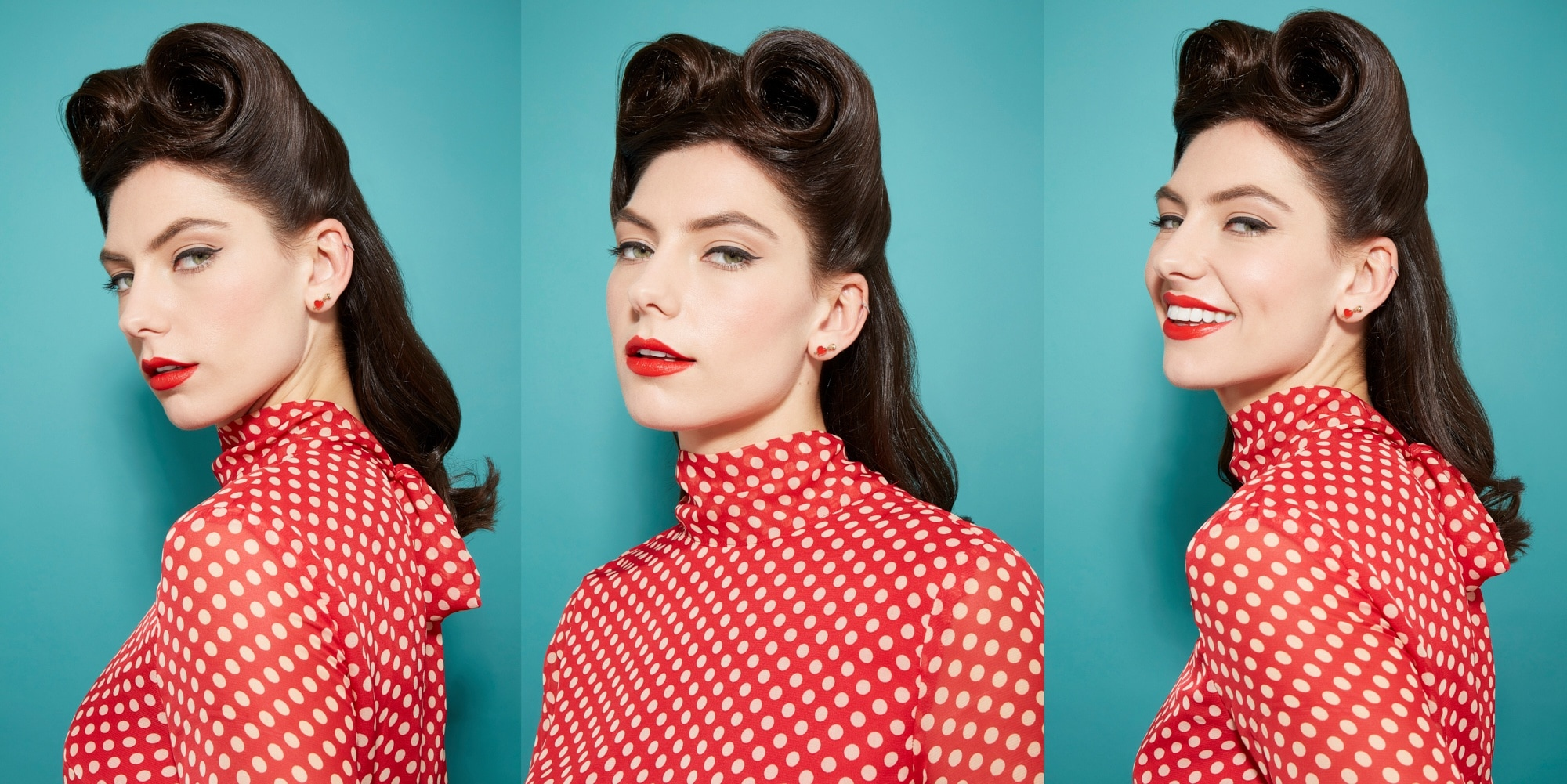 How To Create Victory Rolls Your Perfect Retro Hairstyle