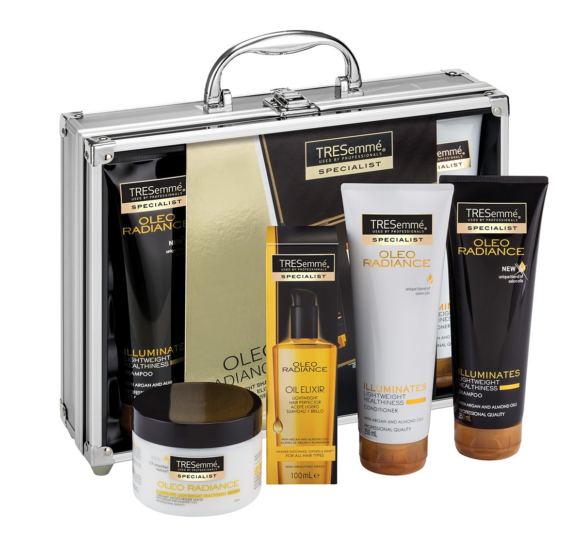 TRESemmé Oleo Radiance box gifts set