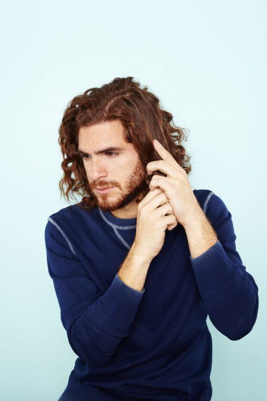 man bun hairstyle: All Things Hair - IMAGE - mens hairstyle curly hair