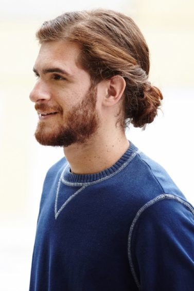 Twisted Man Bun Hairstyle Tutorial