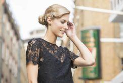 party updos: All Things Hair - IMAGE - wavy blonde vintage hair updo