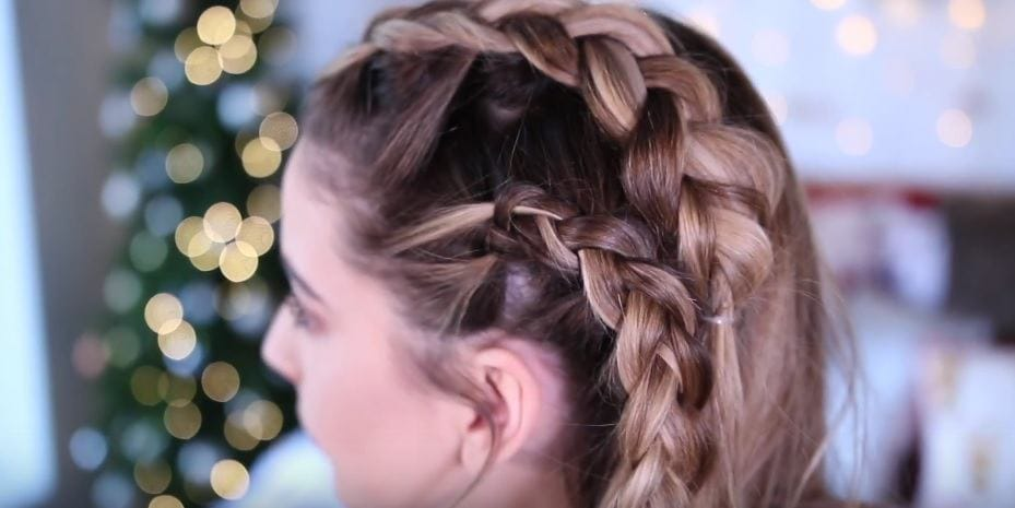 How to Do Two French Braids on the Side of Your Head  LEAFtv