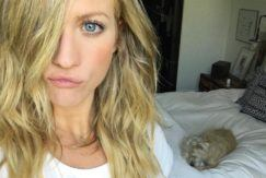 new hair: All Things Hair - IMAGE - Brittany Snow celebrity blonde hair