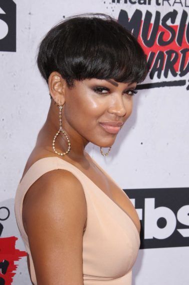 bowl cut: All Things Hair - IMAGE - Meagan Good bowl haircut