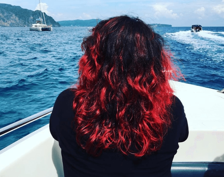 Red Highlights On Black Hair 5 Reasons To Try It Out