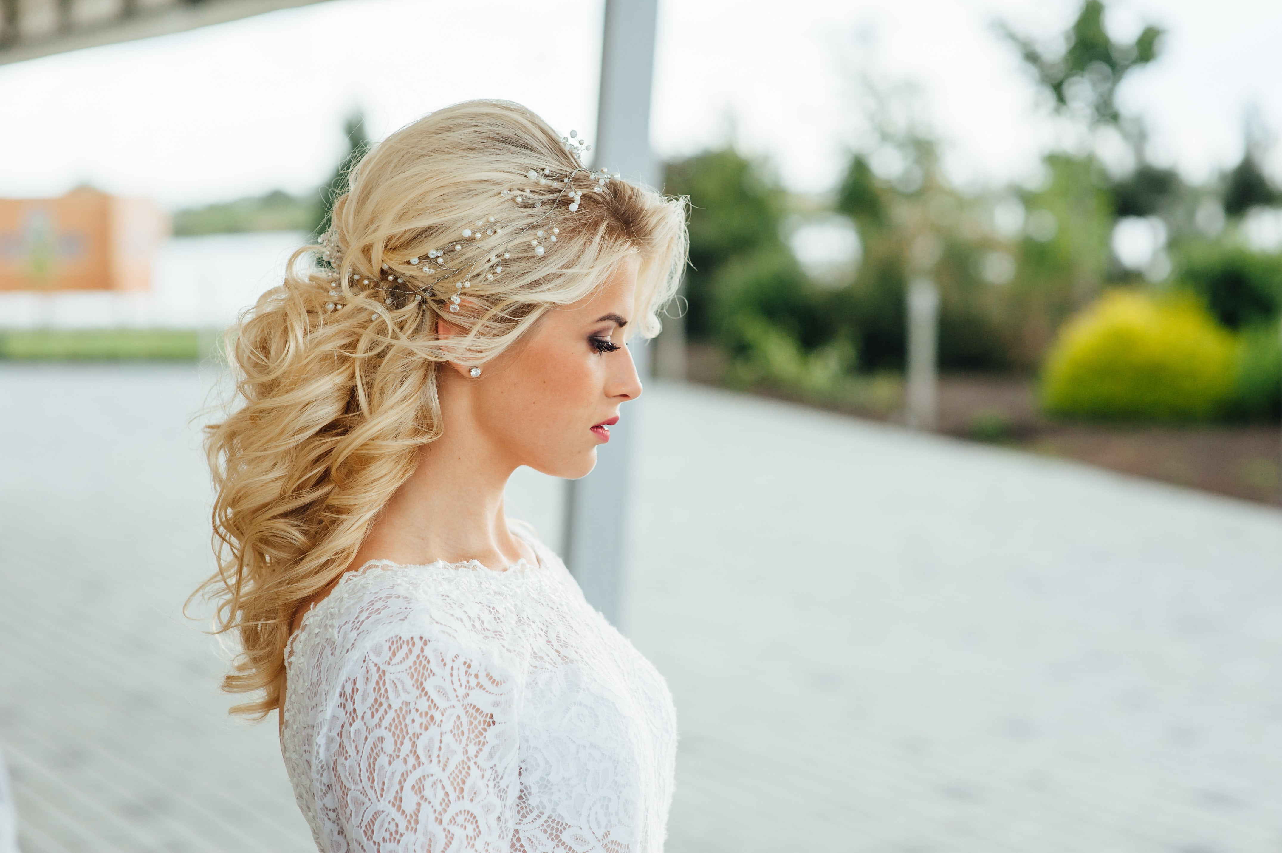 Elegant Down Hairstyles for Wedding Pics Design Ideas – Dievoon