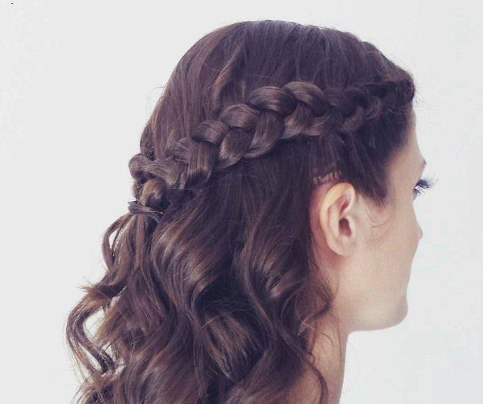 Half Up Half Down Braid Master The Look 6 Easy Steps With Our