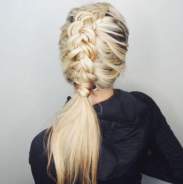 12 Durable Yet Stylish Gym Hairstyles For Thick Hair All Things
