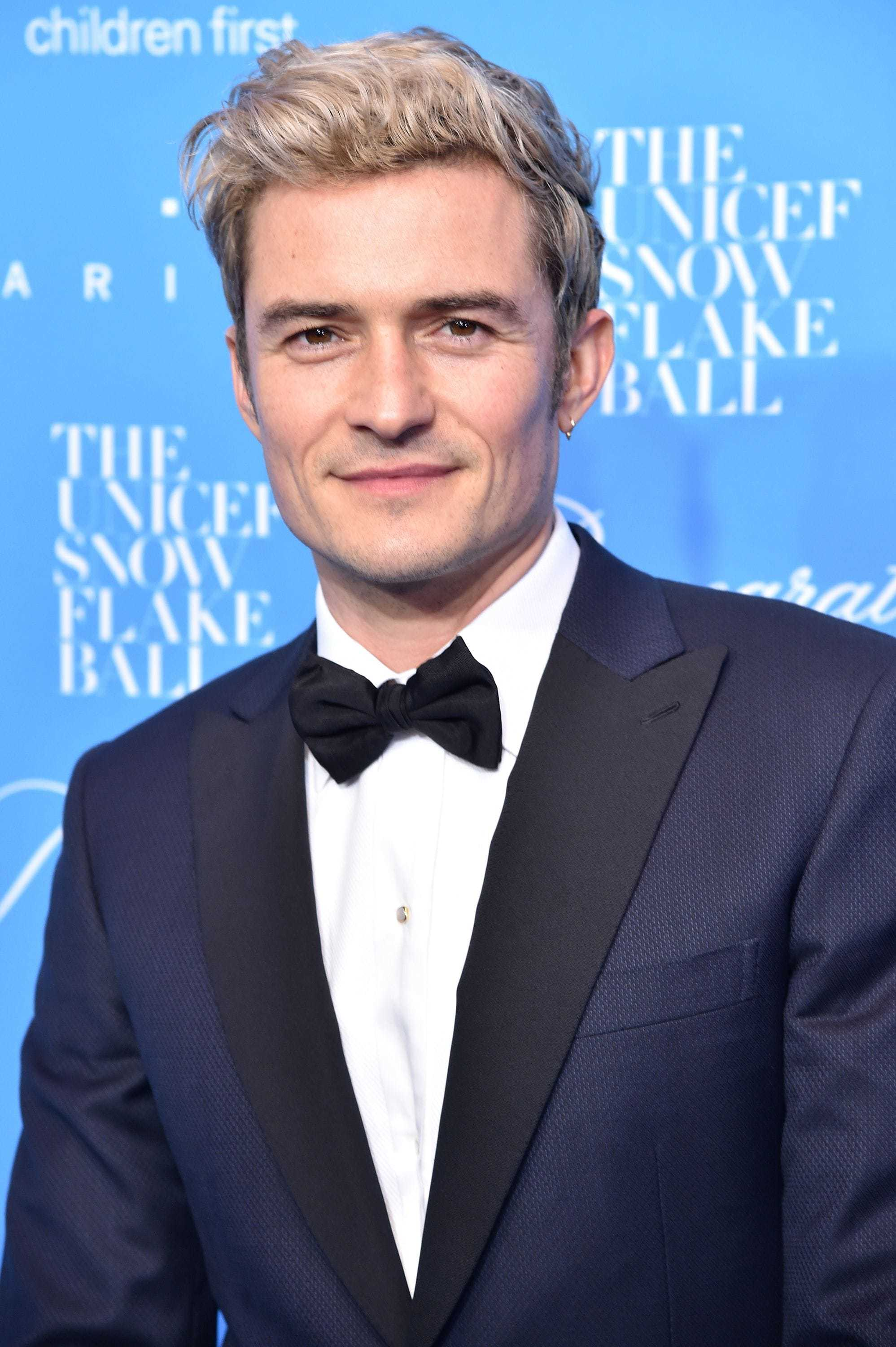 The Orlando Bloom Hair Transformation You Have To See